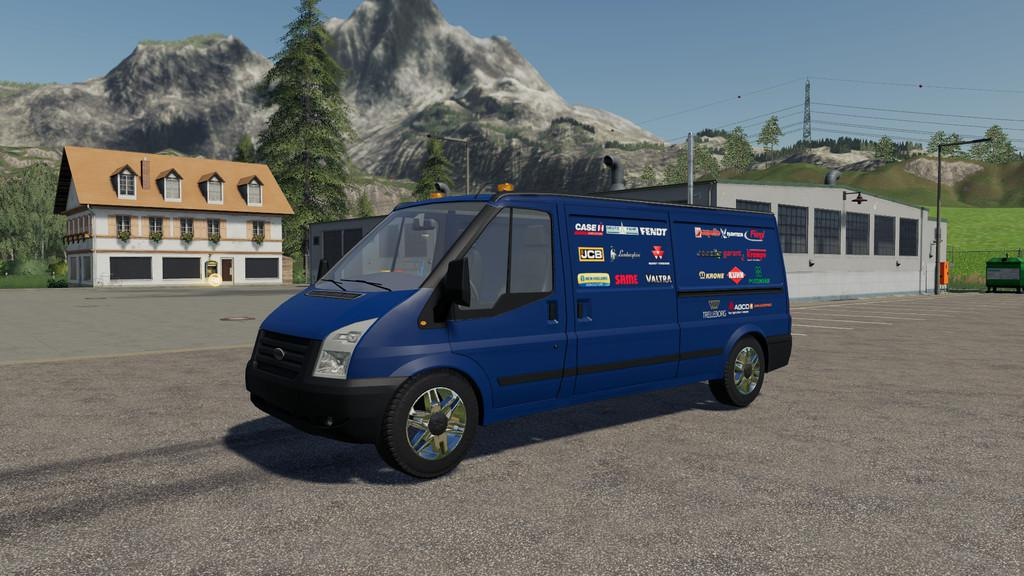 Lizard Rumbler Van Workshop v 1 0 | FS19 mods, Farming simulator 19 mods