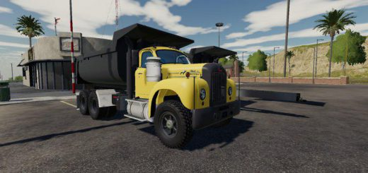 Mack B61 Dump and Trailer v 1.0.0.5