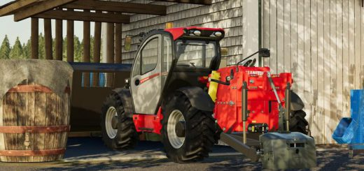 Manitou MLT 737 130PS with hinterer Hydraulik v 1.0