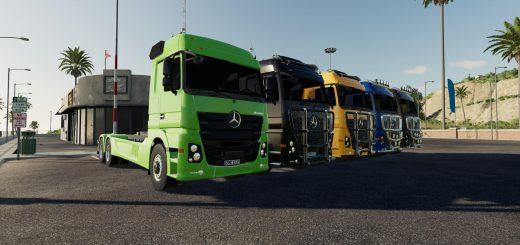Mercedes Actros 2651 hooklift v 1.0