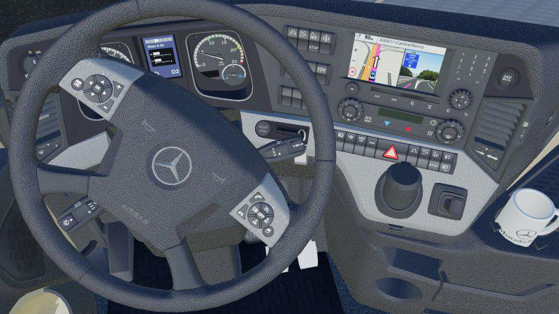 Mercedes-Benz Actros MP4 1845 6x4 v 1.0