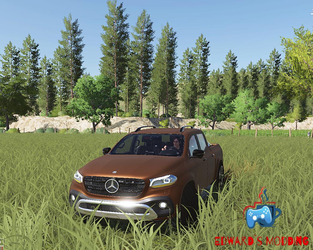 Mercedes X class v 1.0