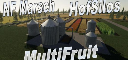 Multifruit silo with extension v 2.0