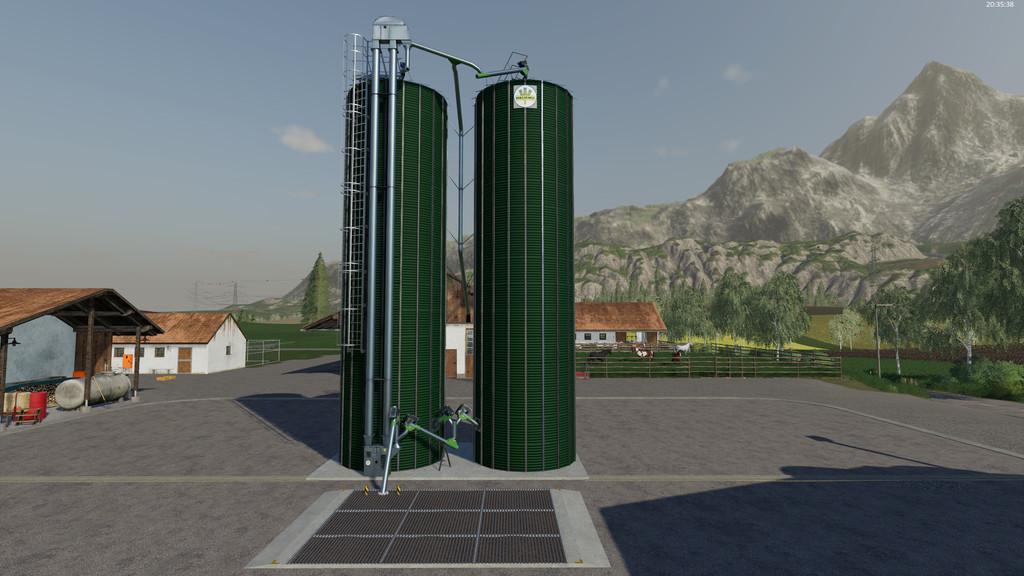 Neuero Grain Silo V 1 0 1 0 Fs19 Mods Farming Simulator