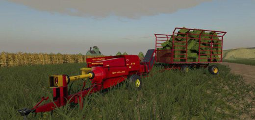 New Holland 378 small square baler v 1.0
