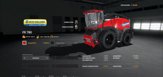 New Holland FR 780 MultiColor v 1.0
