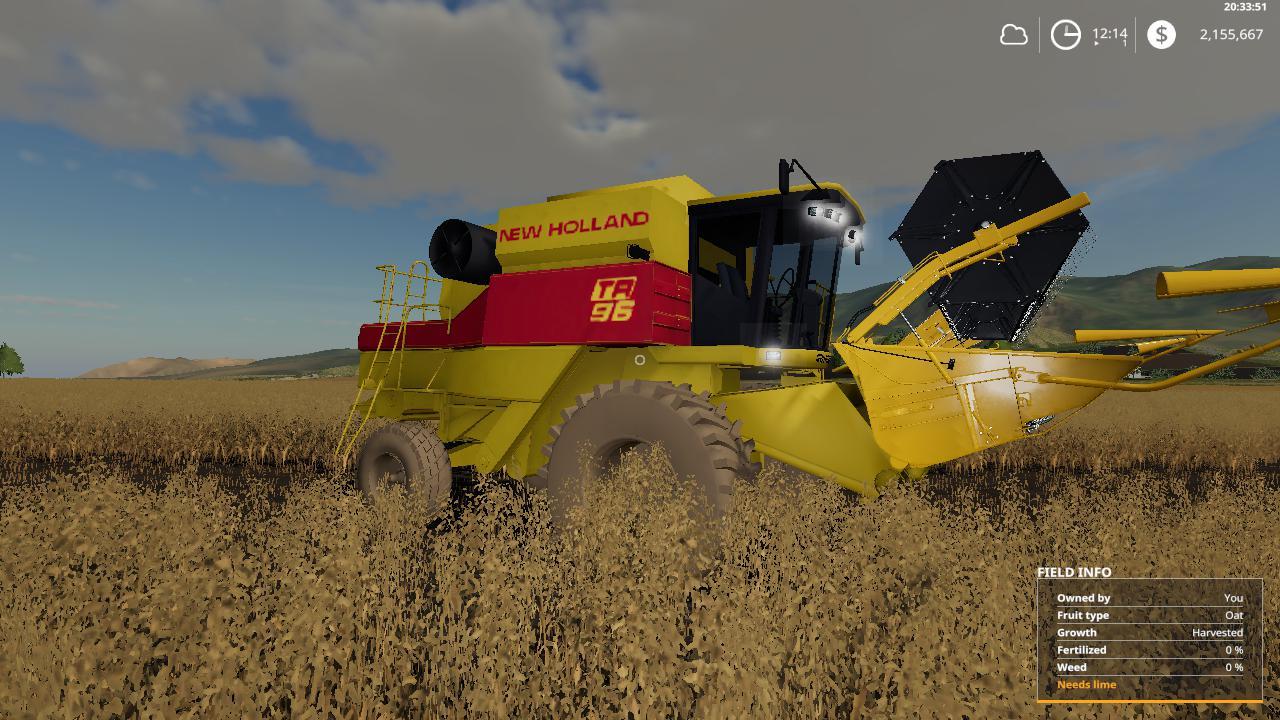 New Holland TR96 beta