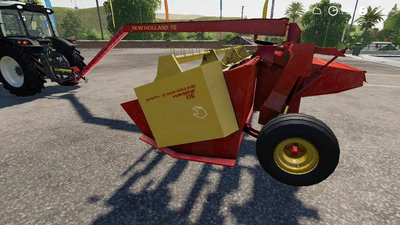 New Holland haybine mower v 1.0