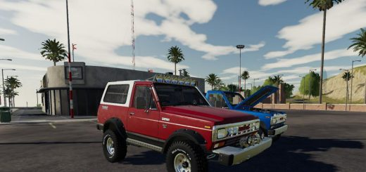 Nissan Safari 1985 v 1.0