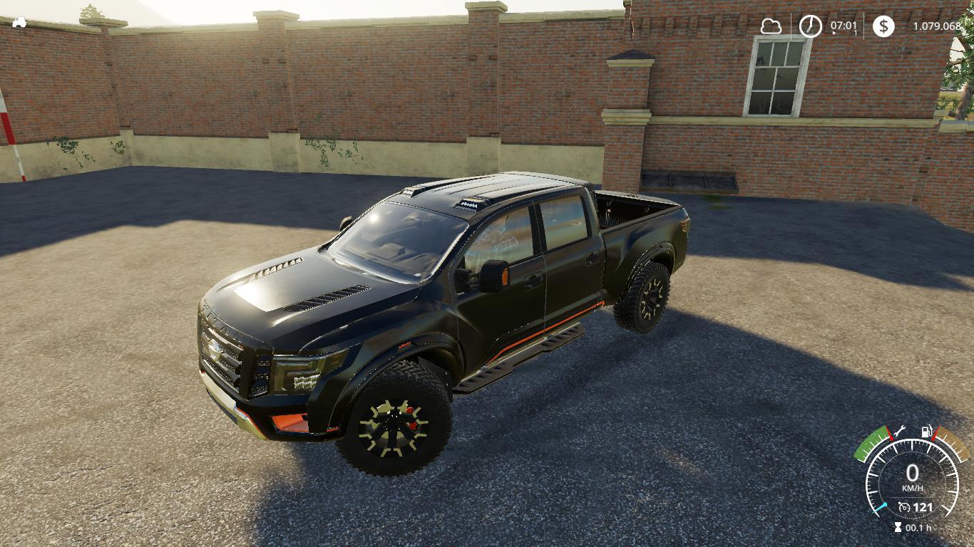 Nissan Titan warrior v 1.0