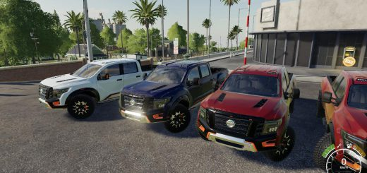 Nissan Titan warrior v 1.0