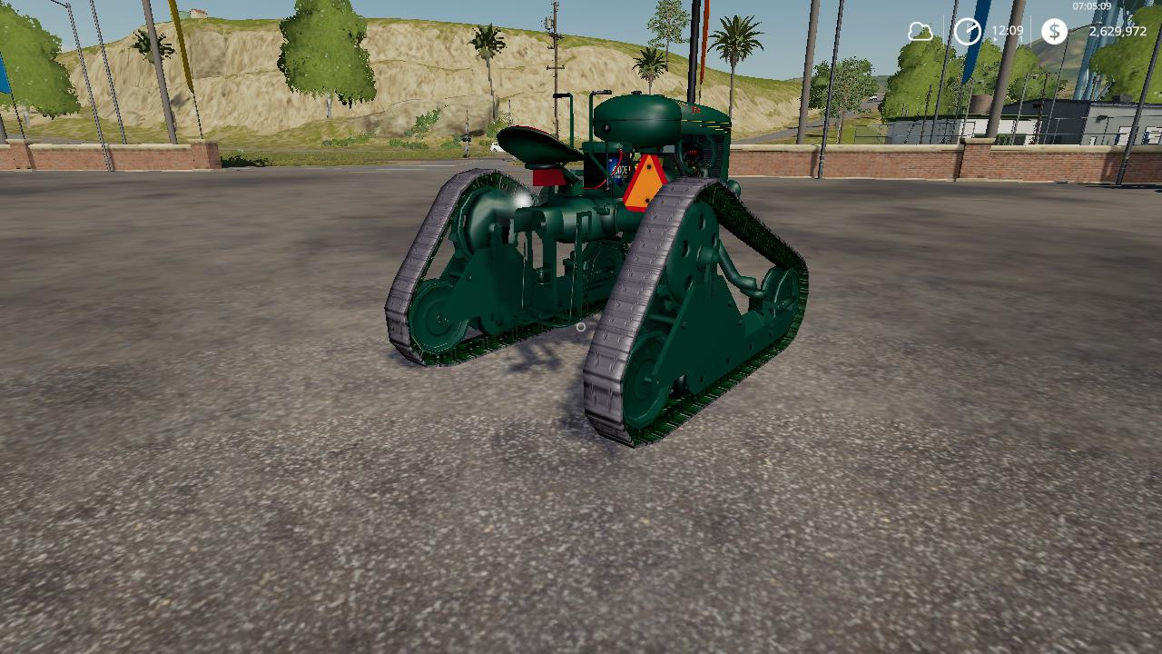 Oliver hg crawler tractor beta