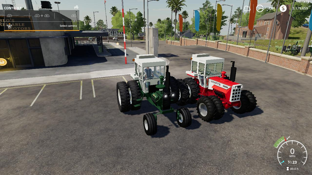 Oliver tractor pack beta