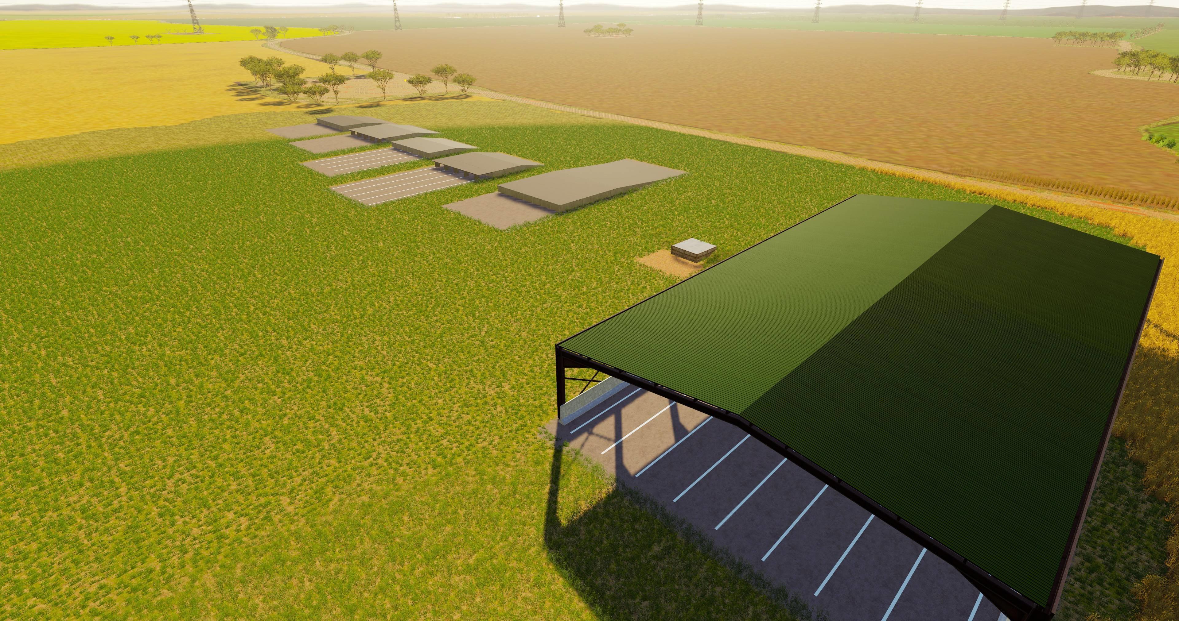 Placable Loading Dock Pack V 1 1 Fs19 Mods Farming