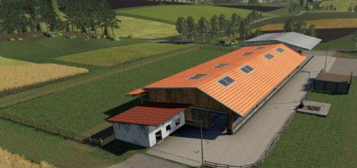 Placeable cow pasture / dairy farm v 1.0