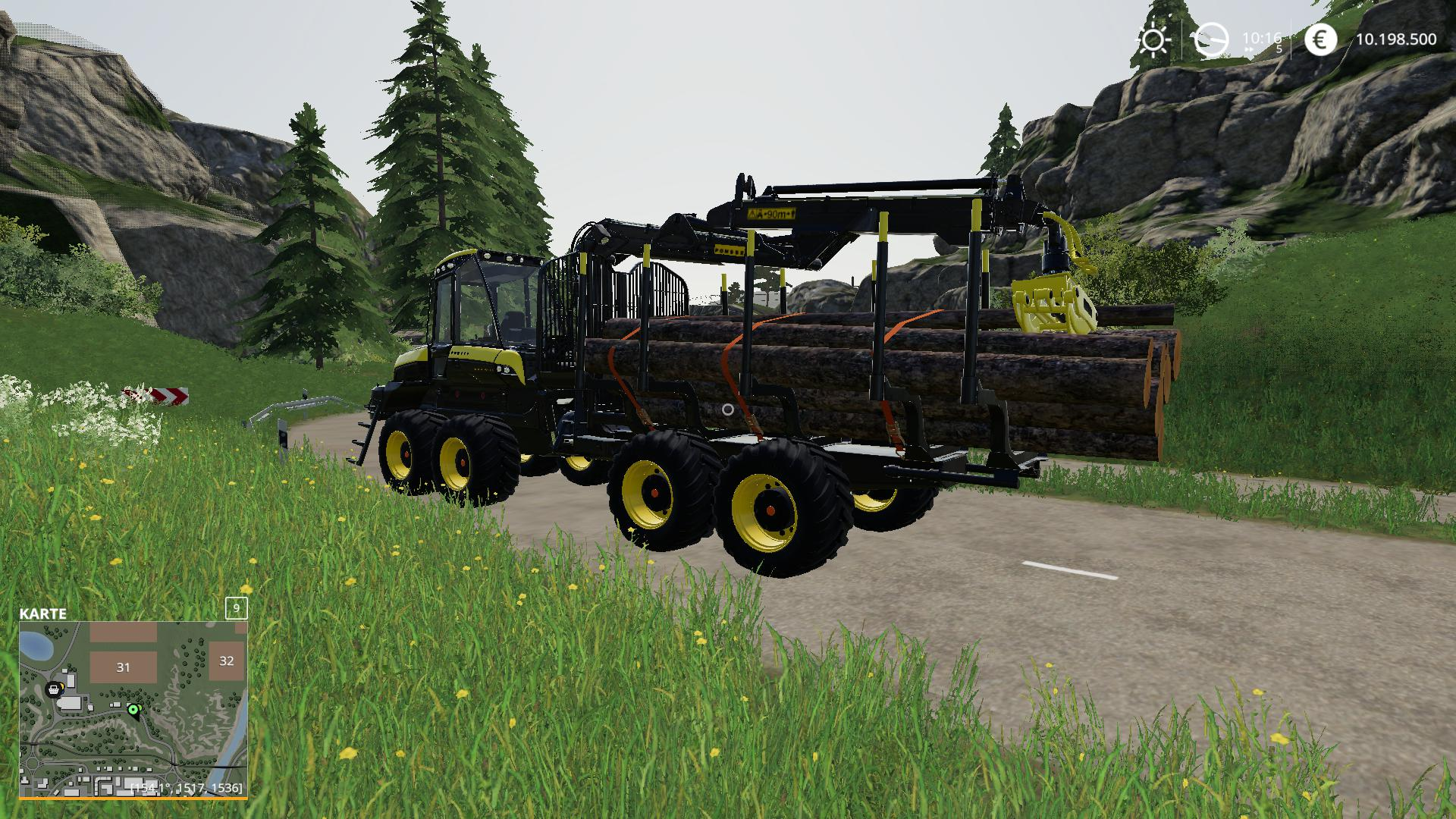 Ponsse Buffalo Autoload v 2.0