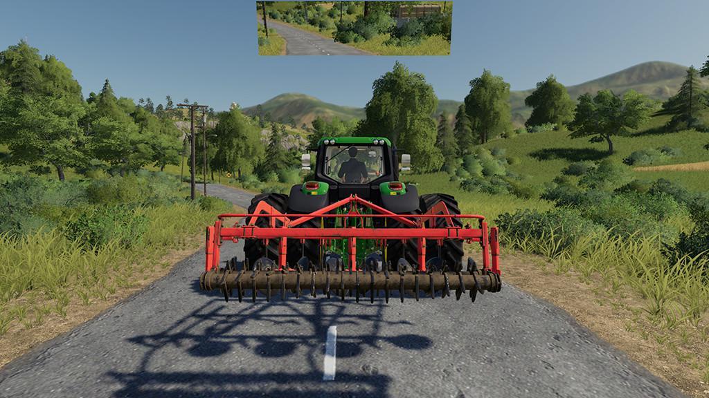 Rearview Mirror v 1 0 | FS19 mods, Farming simulator 19 mods