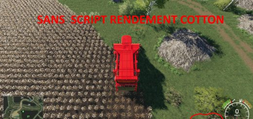 Rendement cotton v 1.0
