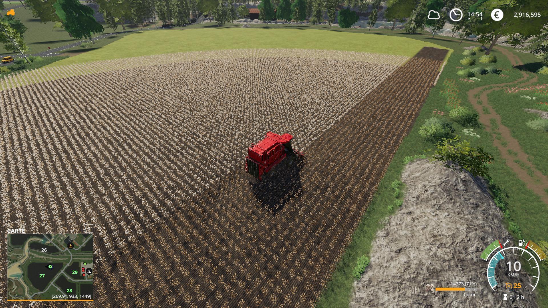 Rendement cotton v 1.0