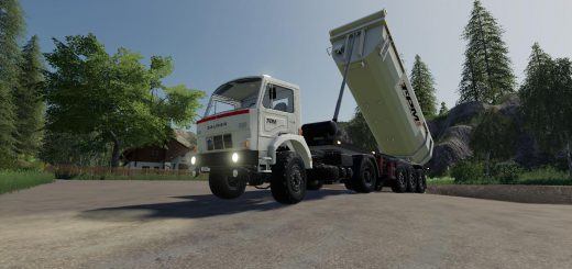 Schmitz Cargobull Tipper (TPM VERSION) v 1.0