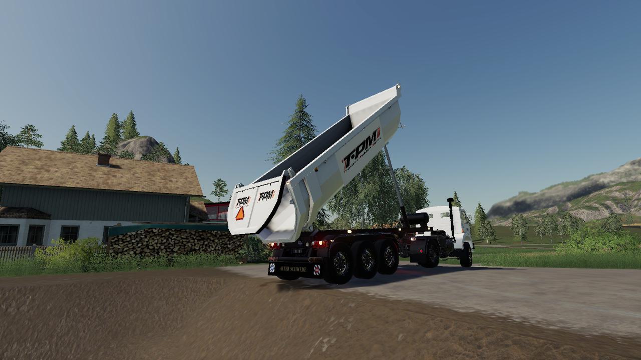 Schmitz Cargobull Tipper (TPM VERSION) v 1.0