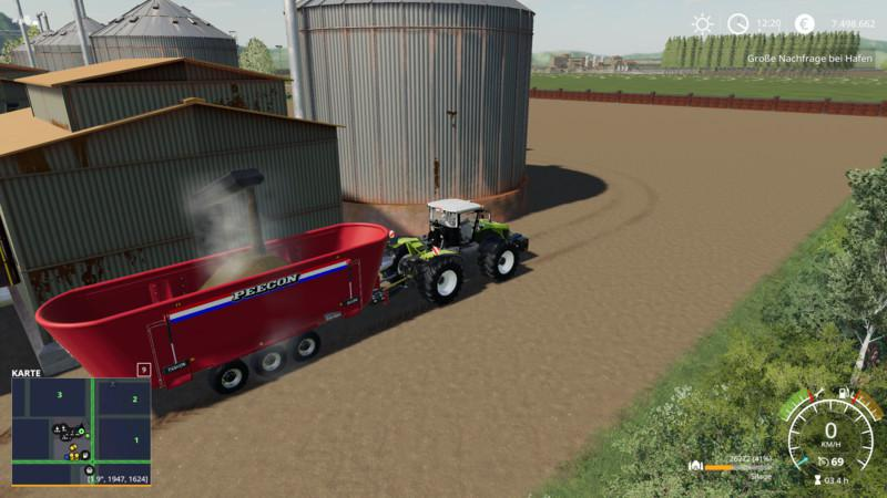 Silage production v 1 0 5 0 | FS19 mods, Farming simulator