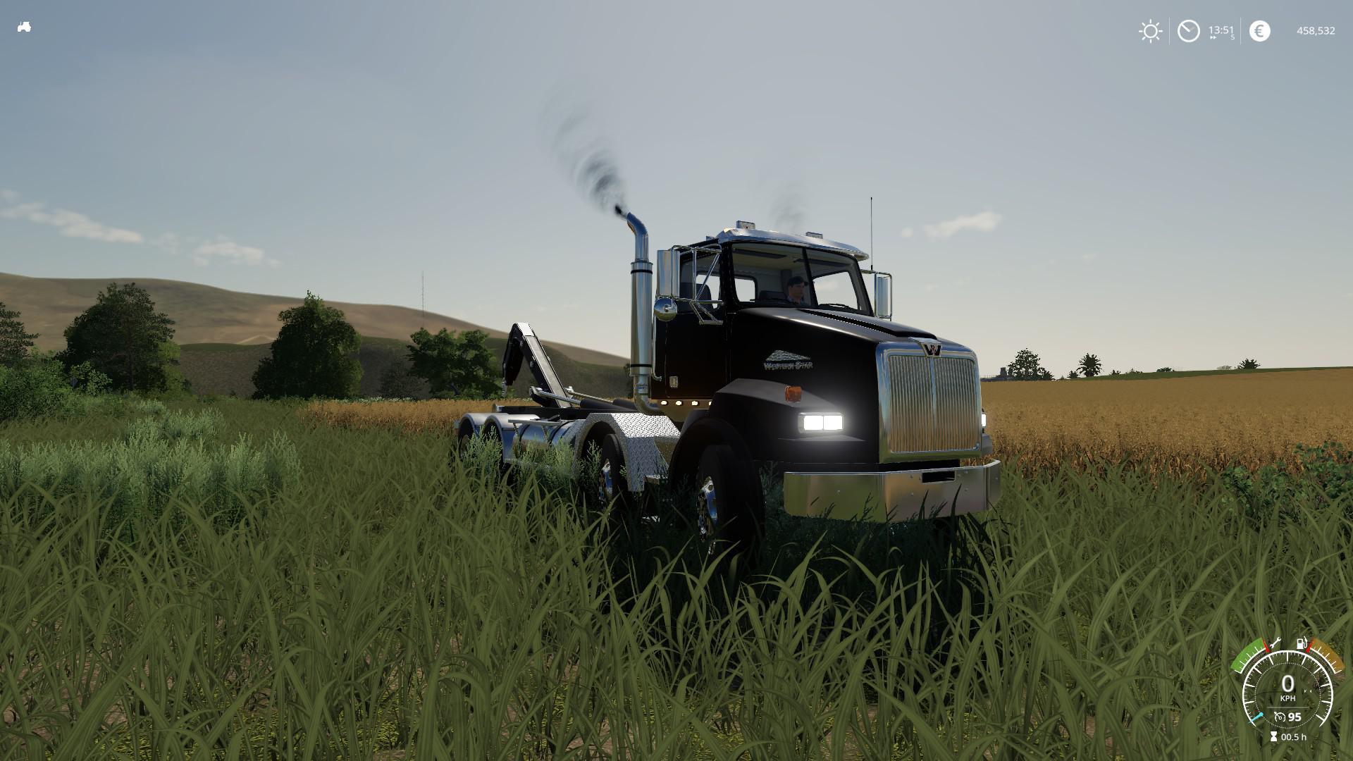 Farm Truck Engine >> Western Star 4800 hooklift v 1.0 | FS19 mods, Farming