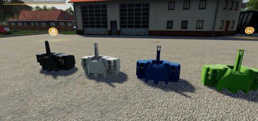 XXL Gewichte Pack v 1.1