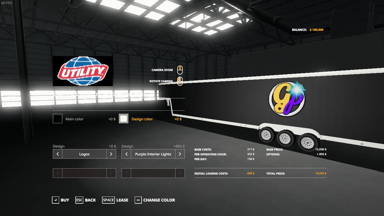 60ft Car Trailer GP edit v 1.0