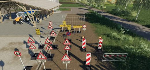 Barrier pack placeable v 1.0