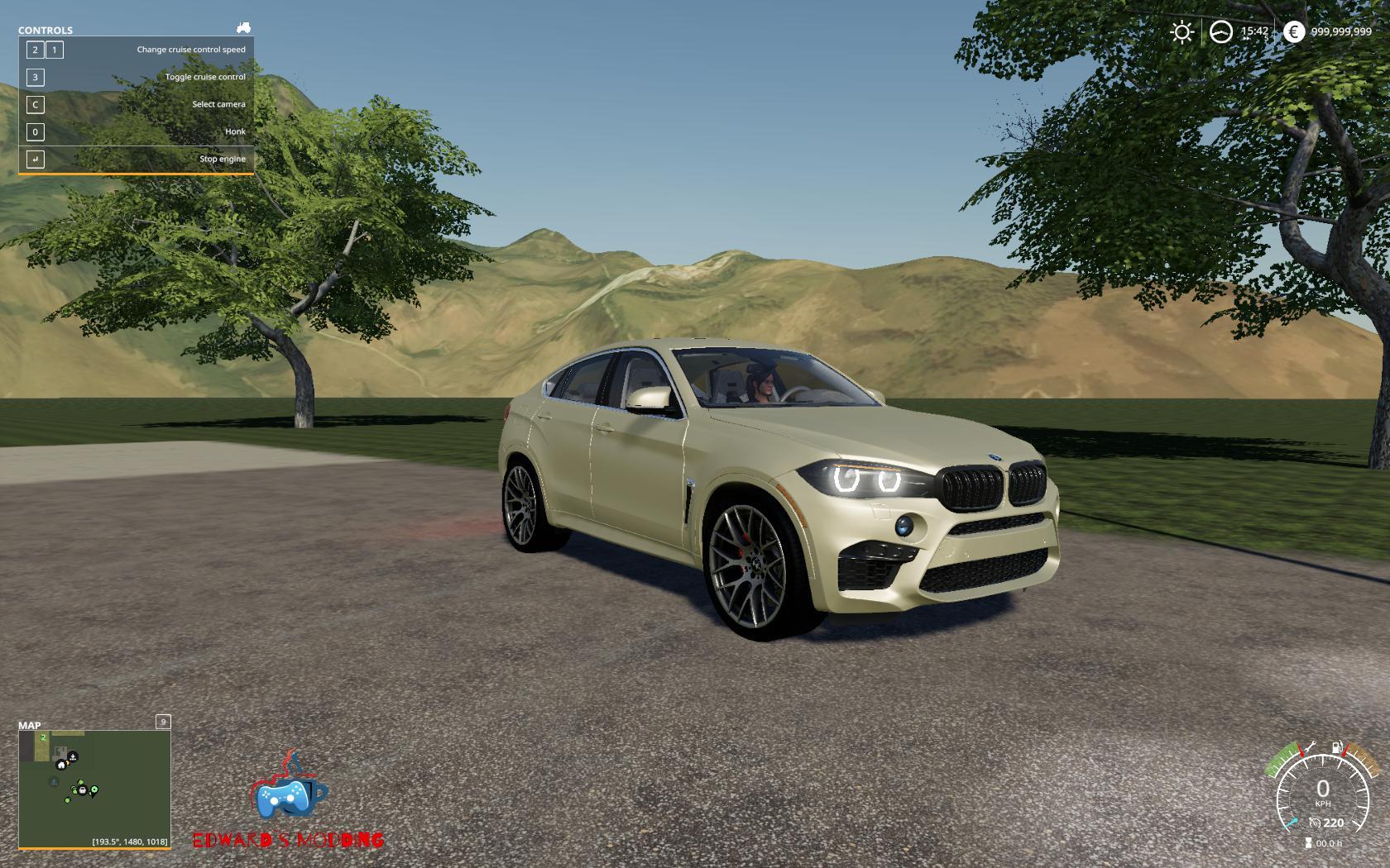 Bmw X6m 2016 v 1.0