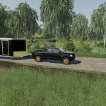 CASE IH 235 lawn Tractor and Car Hauler Mod Pack v 1.0