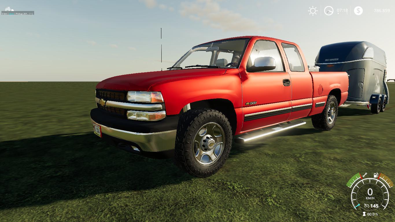 Chevrolet Silverado 1500 99 V 1.0 | FS19 mods, Farming ...