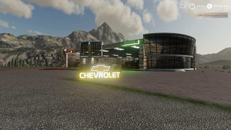 Chevy SIGN v 1.0