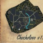 Chocholovo Slovakia Map v 1.0