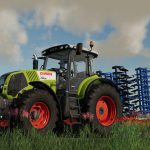 Claas Axion 800 + Weight 900kg v 1.0