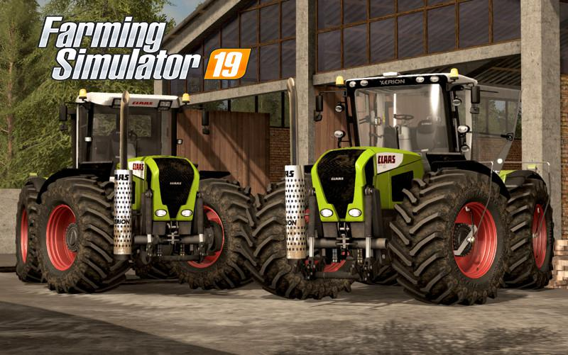 Claas Xerion 3300/3800 v 2.0