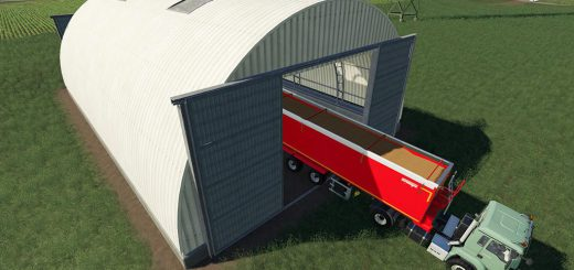 Curved Steel Sheds v 1.0