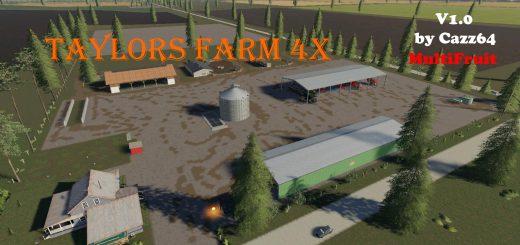 Taylor's Farm Multiftiut 4x v 1.0