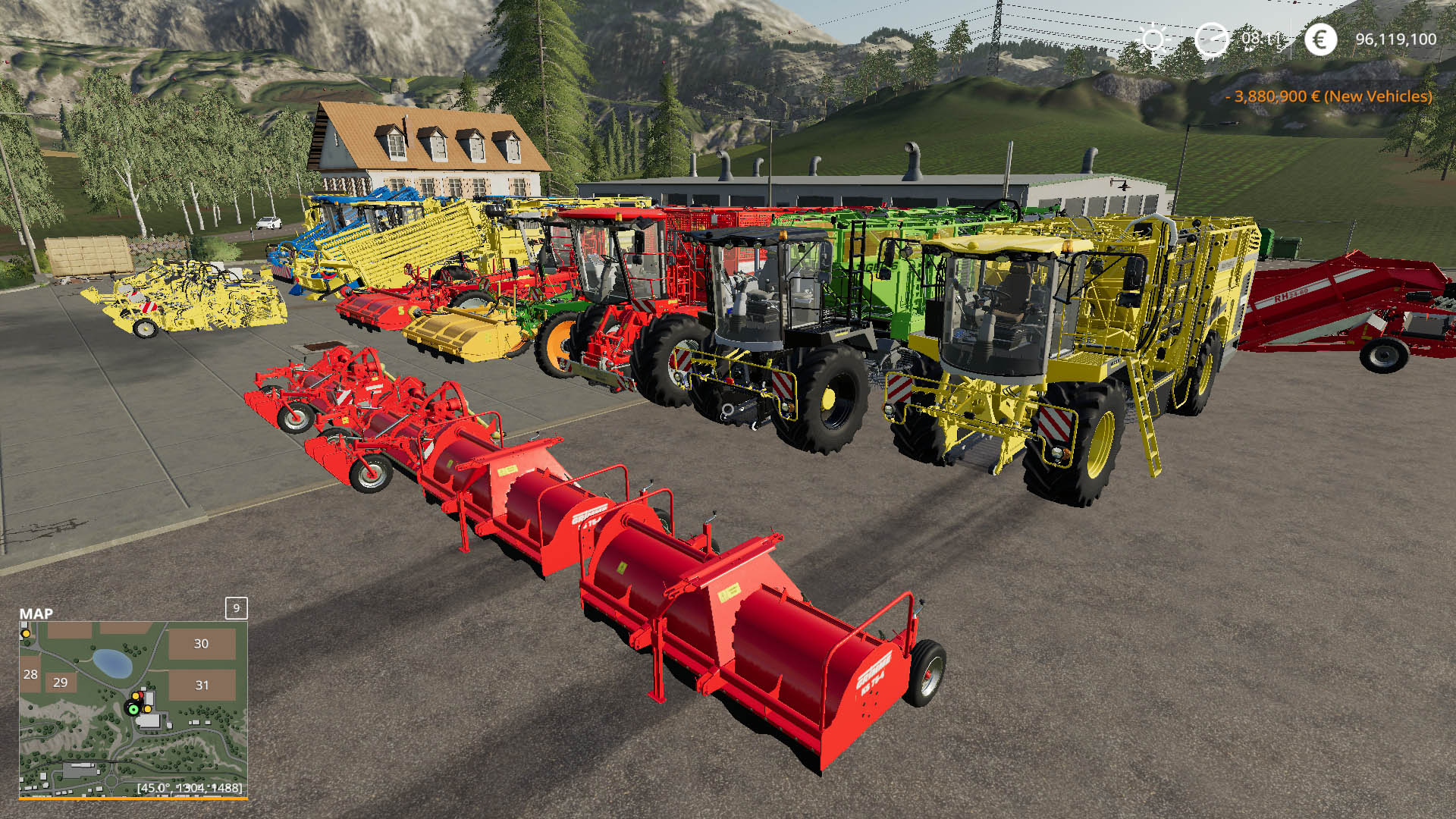 Harvest Pack Multifruit with Grimme RH 24-60 v 1.0