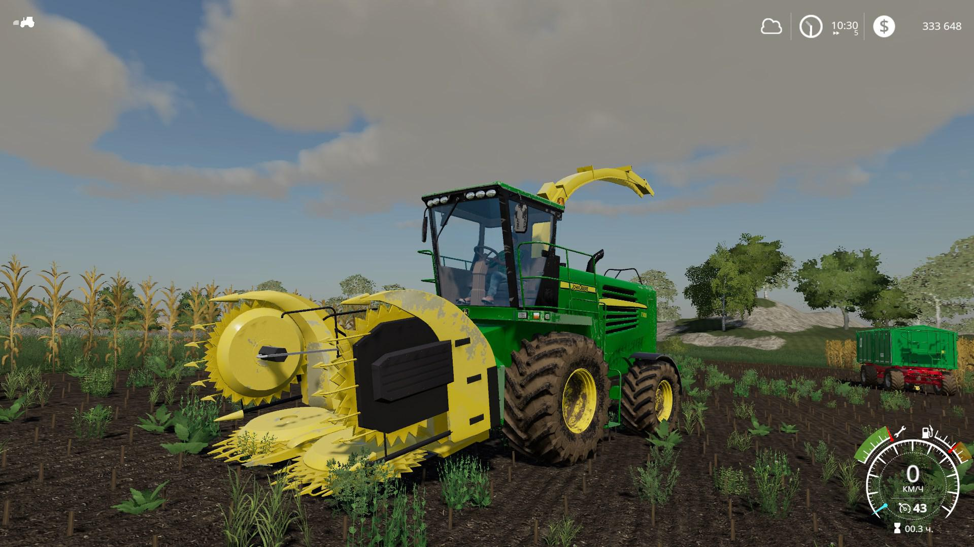John Deere 7400 set v 1 0 | FS19 mods, Farming simulator 19 mods