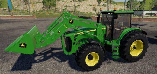 John Deere 8130-8530 + loader v 1.0