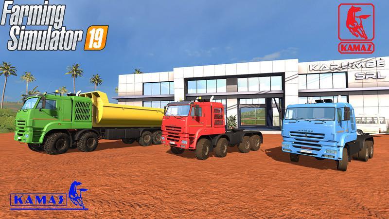 Kamaz 65228 Pack v 1.0