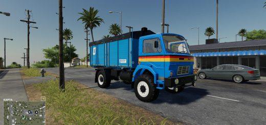 Kroeger HKD module for D-754 truck v 1.0