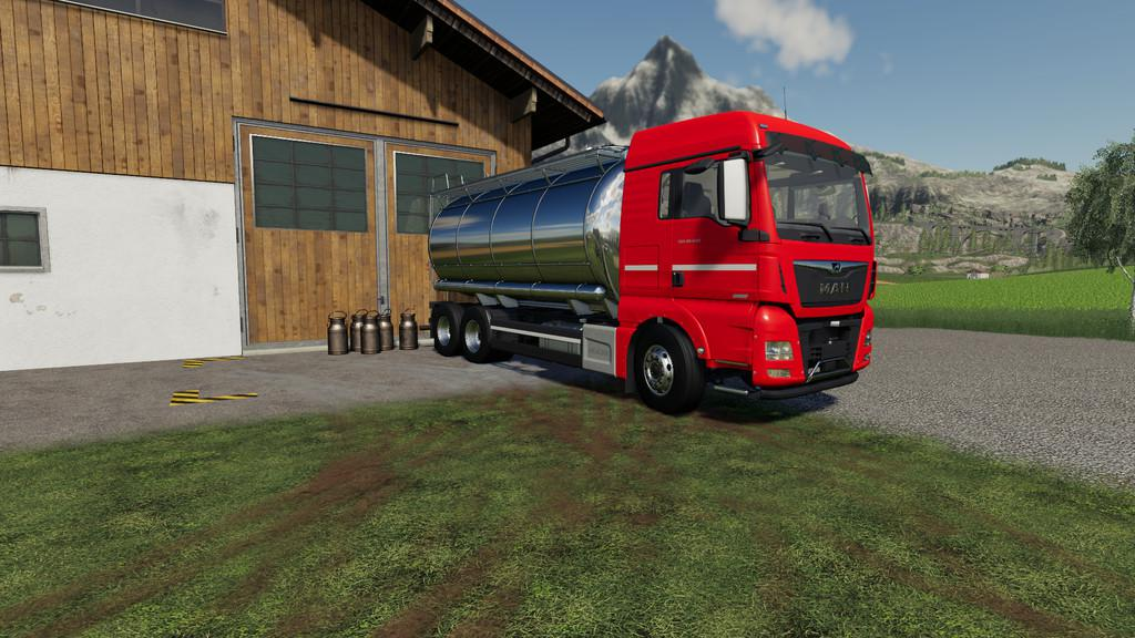 MAN TGX Tanker Truck v 1.0