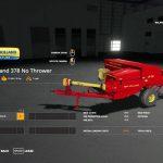 New Holland 378 Baler with Options v1.2
