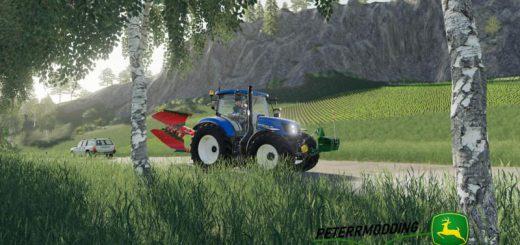 New Holland T6 Autocommand v 1.0
