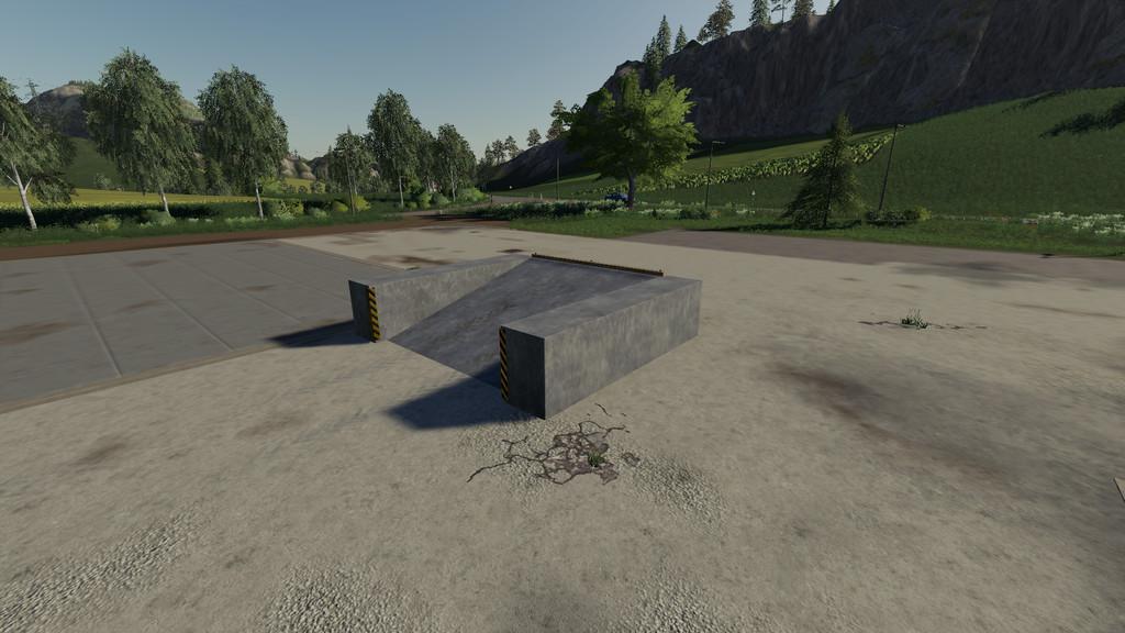 Placeable Concrete Ramp v 1.0