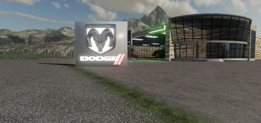 Placeable Dodge Sign v 1.0