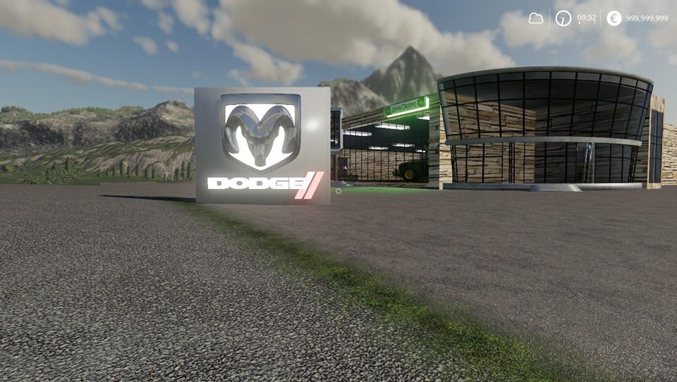 Placeable Dodge Sign v 1.0